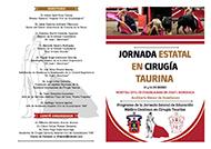 PROGRAMA DE LA JORNADA ESTATAL DE EDUCACIÓN MÉDICA CONTINUA EN CIRUGÍA TAURINA