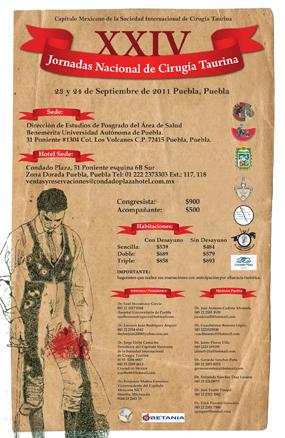 XXIV JORNADAS NACIONAL DE CIRUGÍA TAURINA