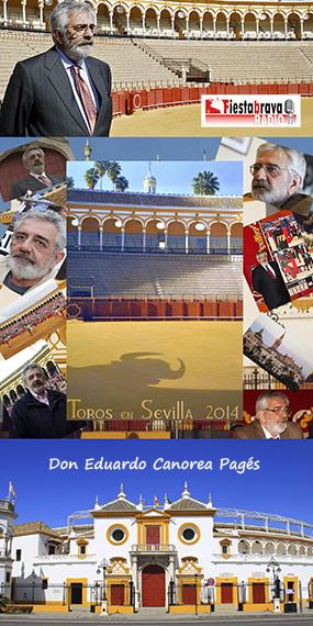 """Don Eduardo Canorea en """"Fiesta Brava"""""""