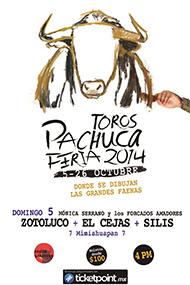 1ª Corrida de Feria - Toros Pachuca - Feria 2014