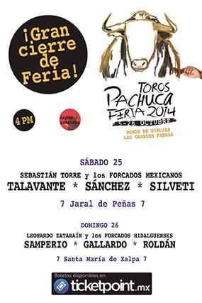 Toros Pachuca - Feria 2014