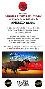 """""""Memorias a través del Tiempo"""" - Joselito Adame"""
