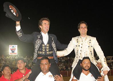 Pablo Hermoso de Mendoza, en Tampico