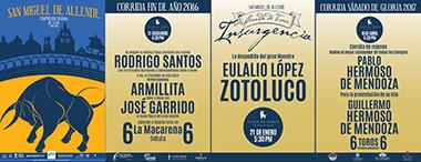 Temporada Taurina de Lujo en San Miguel de Allende 2016-2017
